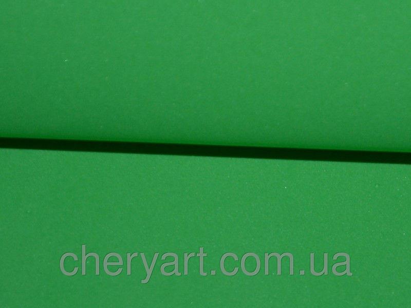 Купить Фоамиран 1мм зеленый на метраж