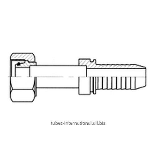 Фитинг сметрическойвнутренней резьбой, тип DIN 3865, конус24°, лёгкая серия