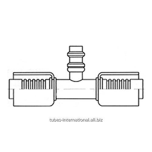 Соединитель для шлангов с клапаном R134