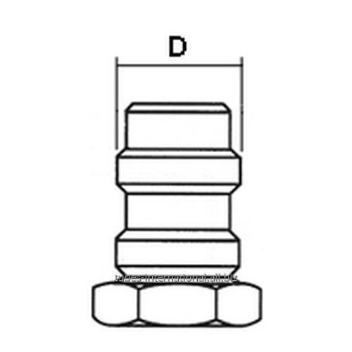 Адаптер R12/R134A -предохраняющие гайки клапанR134A