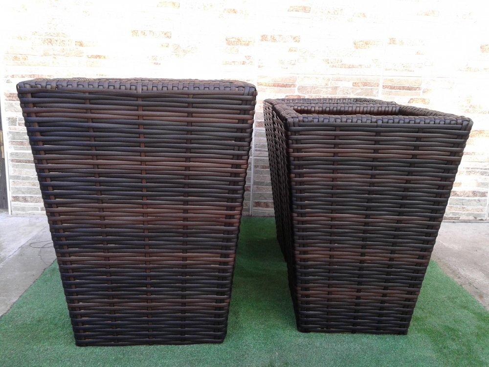 Купить Горшок плетенный из ротанга 453222