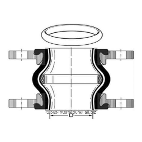 Внутренее тефлоновое покрытие PTFE + вакуумное кольцо PTFE
