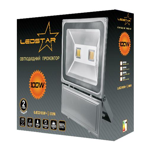 Светодиодный прожектор LEDSTAR 100W ECO
