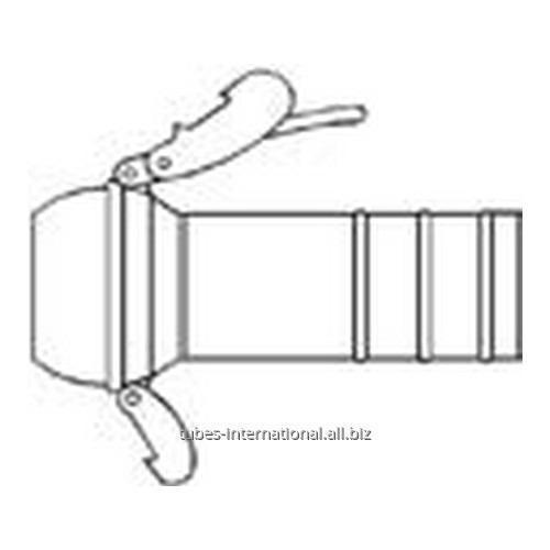 Штеккер с фитингом для шланга B.8 для соединения Bauer