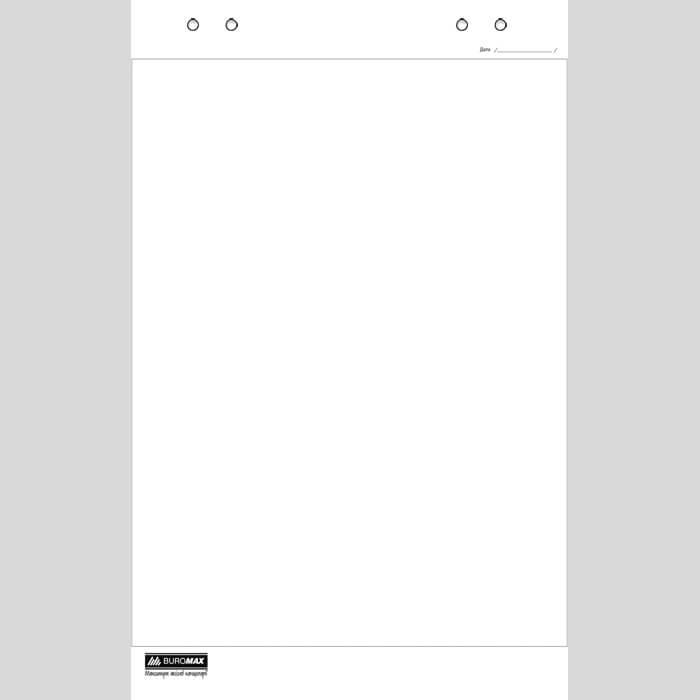 Paper for Buromax BM.2294 flipchar