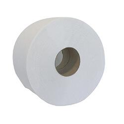 Бумага туалетная целлюлозная Buroclean Джамбо, 100м, на гильзе