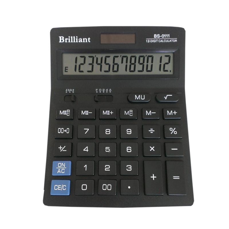 Купить Калькулятор Brilliant BS-0111 12 разрядный 2-пит (BS-0111)