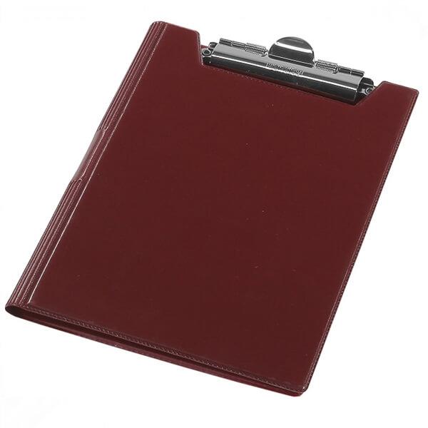 The clipboard folder of Panta Plast A4 blamed, claret (0314-0002-10)