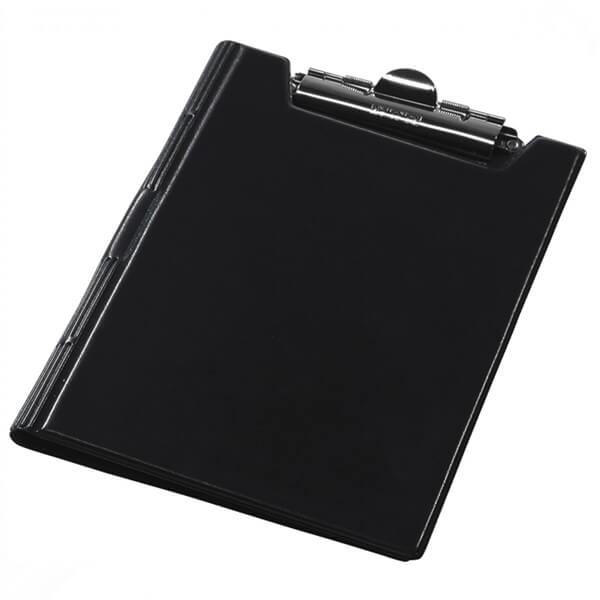 The clipboard folder of Panta Plast A4 blamed, black (0314-0002-01)