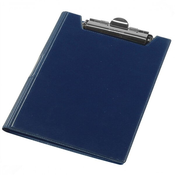 The clipboard folder of Panta Plast A4, blamed, dark blue (0314-0002-02)