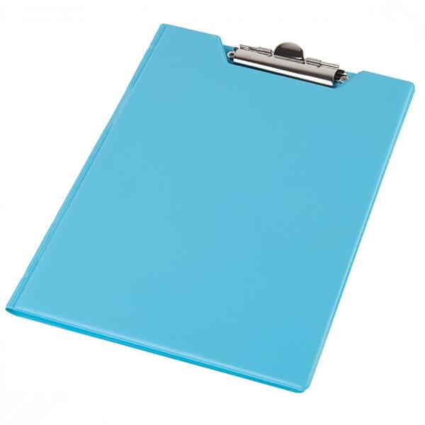 Clipboard folder of Panta Plast A5 PVC, blue (0314-0005-27)