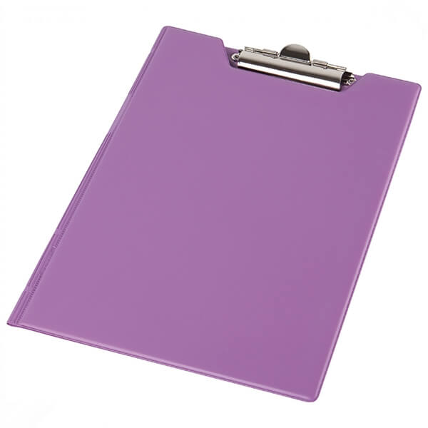 Clipboard folder of Panta Plast A5 PVC, violet (0314-0005-29)