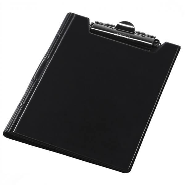 The clipboard folder of Panta Plast A5 blamed, black (0314-0006-01)