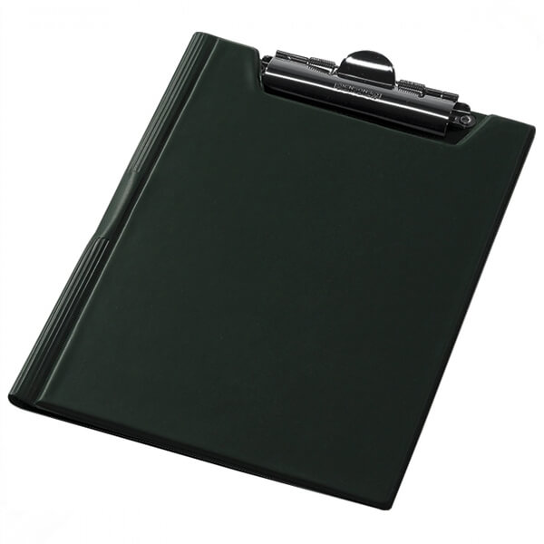 Clipboard folder of Panta Plast A5, PVC, green (0314-0005-04)