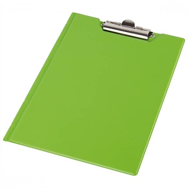 Clipboard folder of Panta Plast A5, PVC, lime (0314-0005-28)