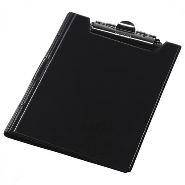 Clipboard folder of Panta Plast A5, PVC, black (0314-0005-01)