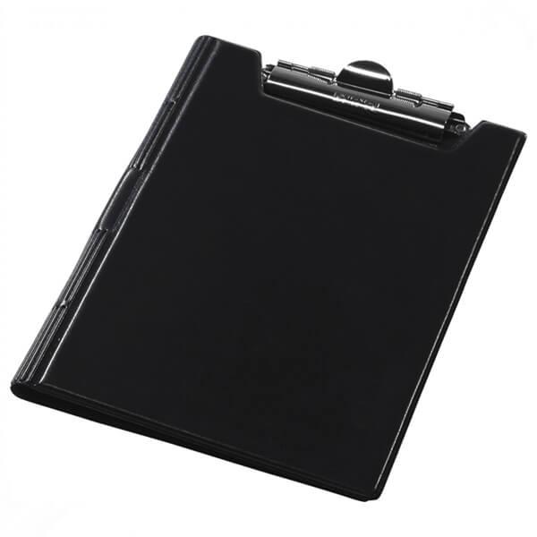 Clipboard folder of Panta Plast A5, PVC, black (0314-0005-01)