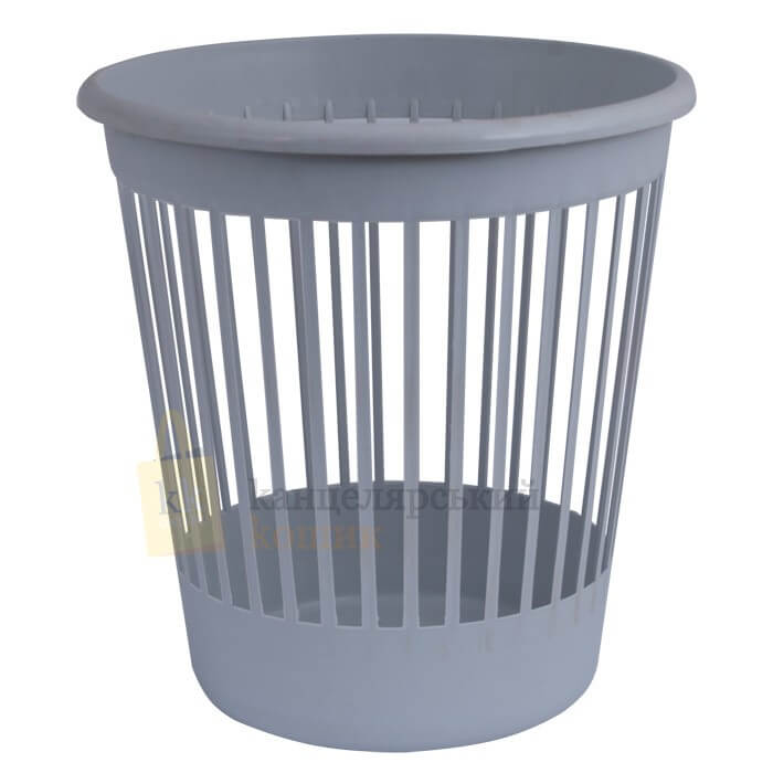 Basket office Arnica for papers of 10 l., plastic, gray