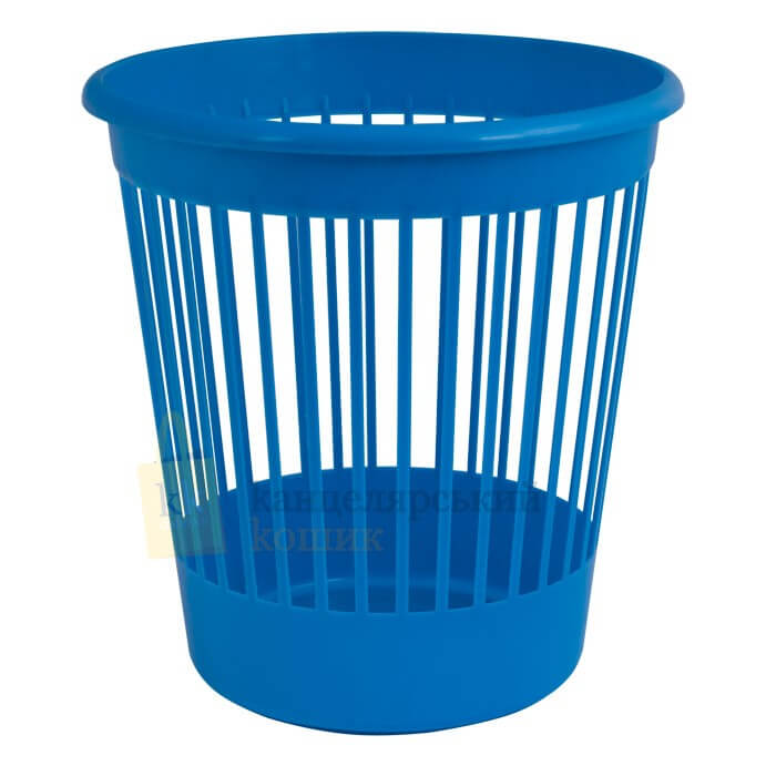 Basket office Arnica for papers of 10 l., plastic, blue