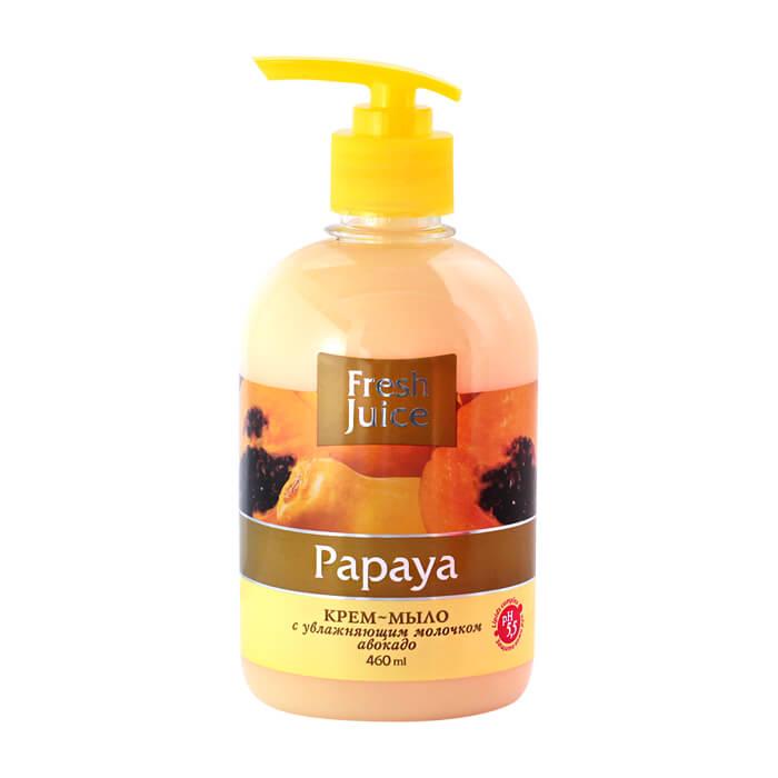 Купить Крем-мыло жидкое Fresh Juice 460 мл с увлажняющим молочком авокадо Papaya (e.14591)