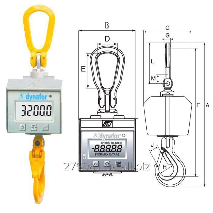 Buy Crane scales of dynafor MWX