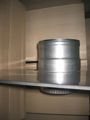 Купить Окончание дымохода из нержавеющей стали: диаметр (ф250)