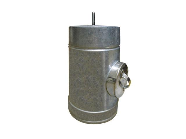 Купить Ревизия с теплоизоляцией: н / н 0,8мм, диаметр (ф100 / 160)
