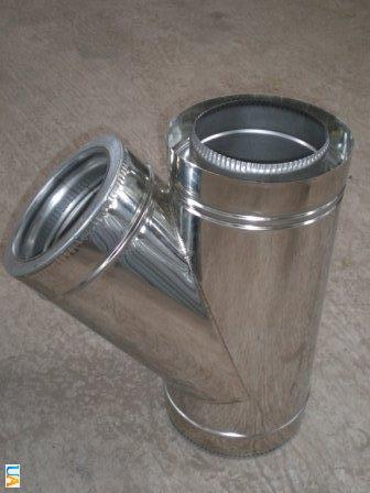 Buy Tee with thermal insulation of 45 N/N 0,8mm, diameter (f100/160)
