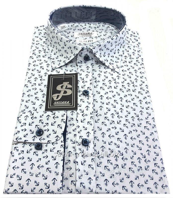 Рубашка мужская c принтом № GS 66.4
