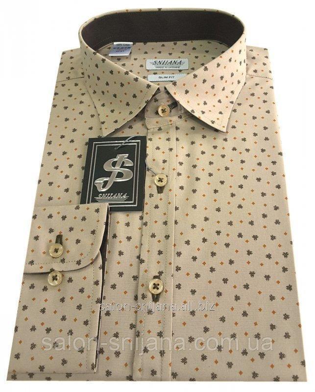 Рубашка мужская c принтом № S 66.5