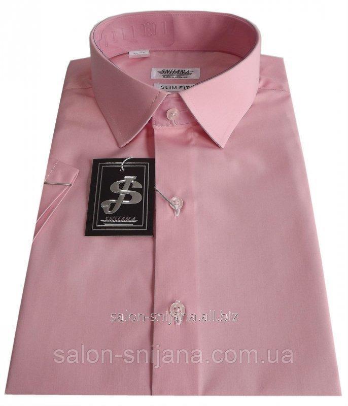 Купить Мужская рубашка с коротким рукавом №10/16 506-14-1714