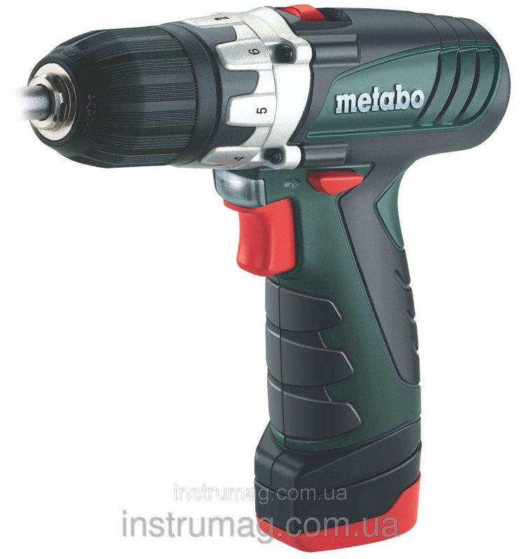 Купить Аккумуляторный шуруповерт Metabo PowerMaxx BS