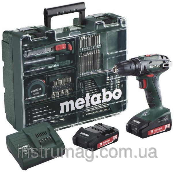 Купить Аккумуляторный шуруповерт Metabo BS 18 Mobile Workshop
