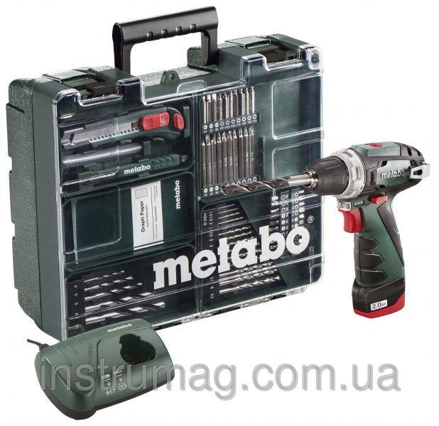 Купить Аккумуляторный шуруповерт Metabo PowerMaxx BS Mobile Workshop