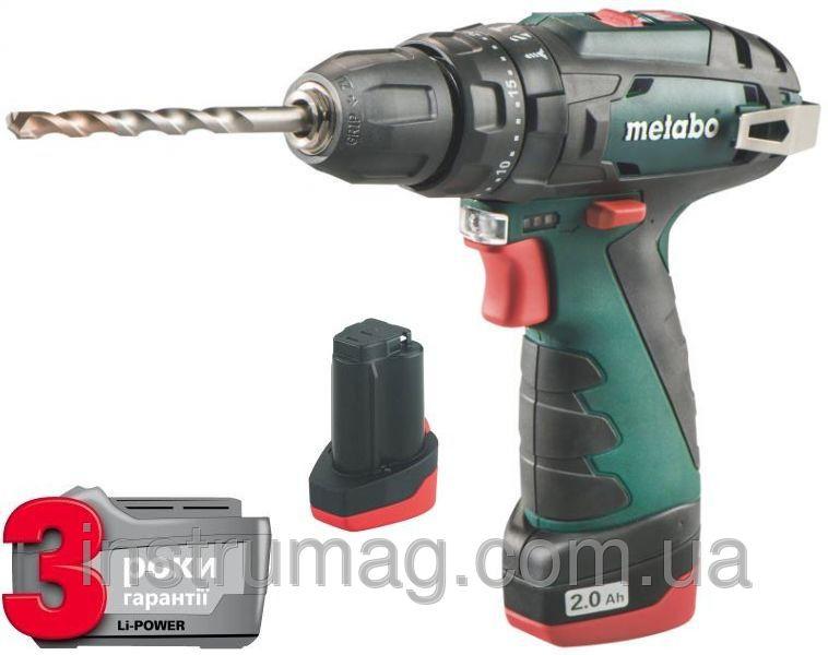 Купить Аккумуляторный ударный шуруповерт Metabo PowerMaxx SB