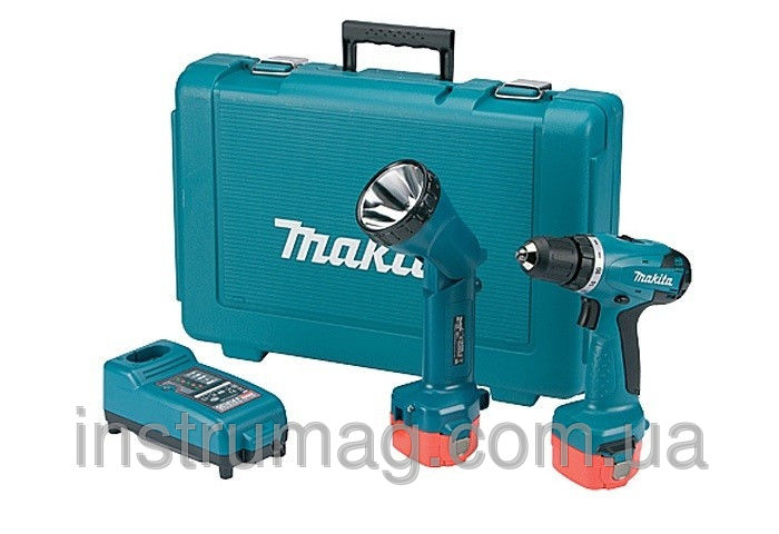 Купить Аккумуляторный шуруповерт Makita 6261DWPLE