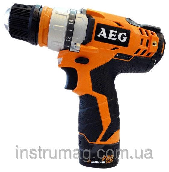 Купить Аккумуляторный шуруповерт AEG BBS 12C2 LI-202C