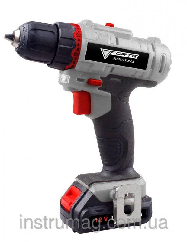 Купить Аккумуляторный шуруповерт Forte LCD 1217-2 В2 (2 аккумулятора)