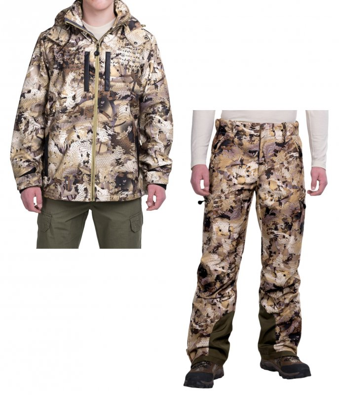Suit for hunting demi-season Beretta Xtreme Ducker Windstopper® Soft Shell