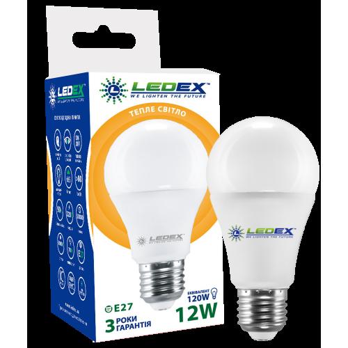 Купить Светодиодная лампа LEDEX 12W E27 PREMIUM (груша)