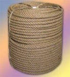 Веревка льнопеньковая диаметром 10-20-30-40-50 мм № 2