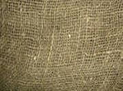 Мешковина джутовая плотностью 250, ширина рулона 1,05 м № 1