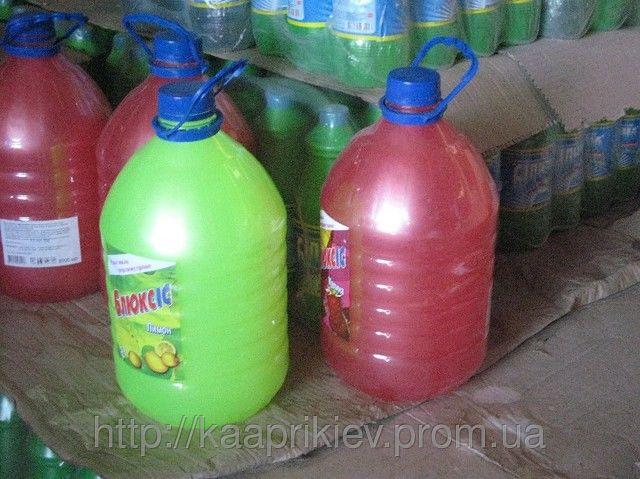 Мыло жидкое 5л в ПЕТ-бутылках № 1