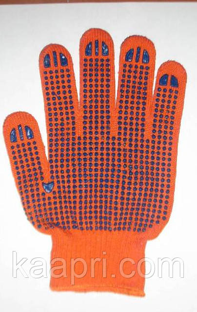 Gloves working with PVC poin
