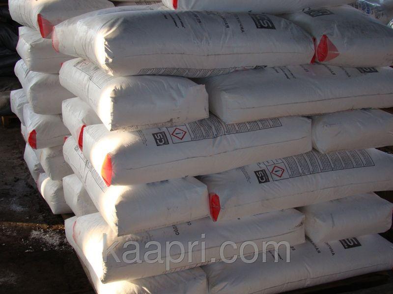 Сода кальцинированная в мешках по 25 кг № 1