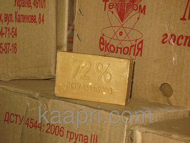 Хозяйственное мыло 200г, 72% № 1