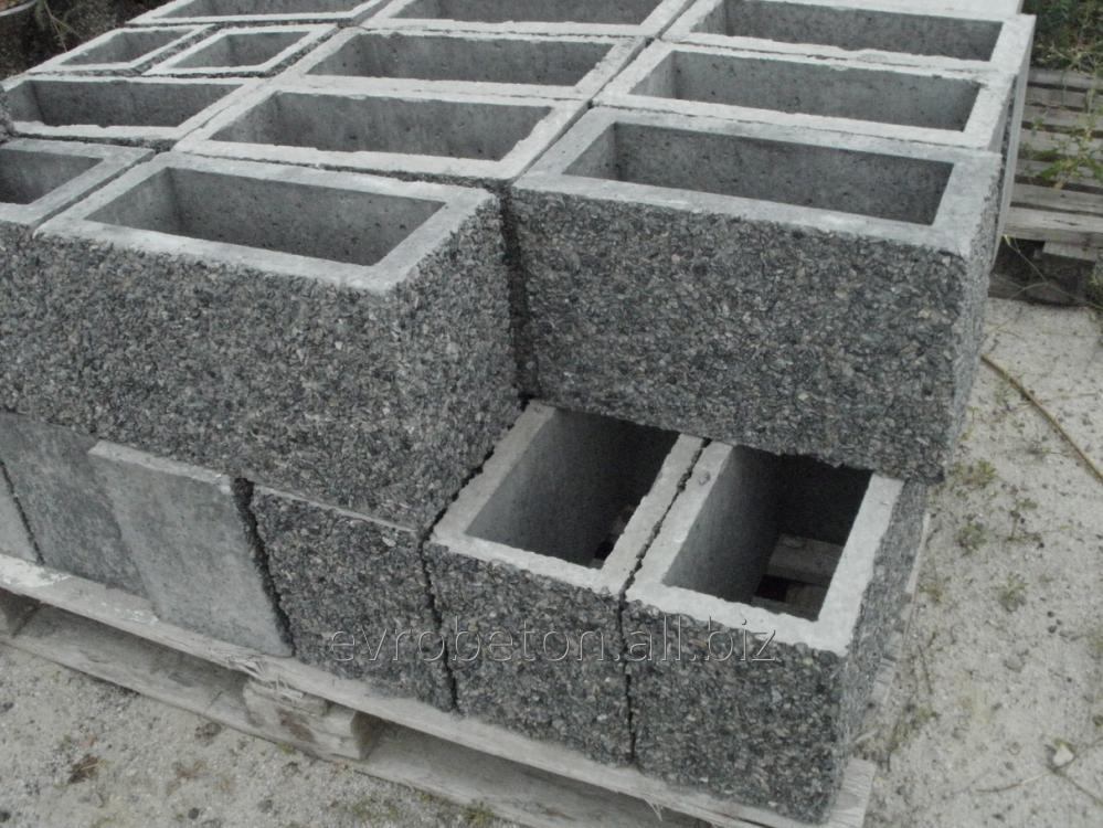 Блок для забора (ограждения)