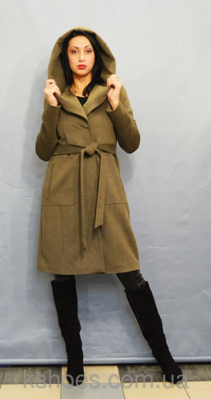 Купить Пальто цвета хаки ICON 60027