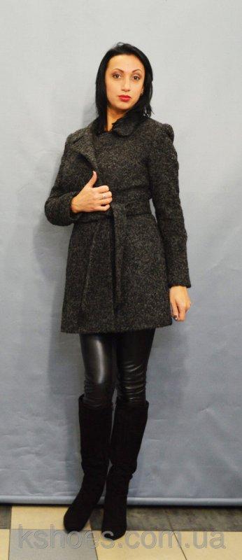 Купить Пальто серый меланж ICON 8896