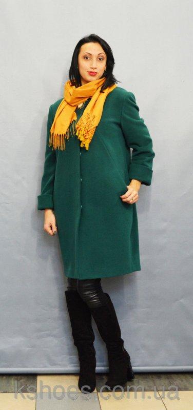 Купить Пальто зеленое Velvet 22220